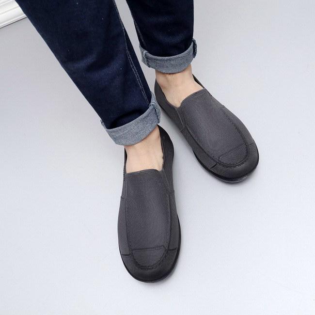 FOFU-雨鞋低筒雨鞋防水輕便耐磨厚底防滑工作鞋男鞋【09S2376】