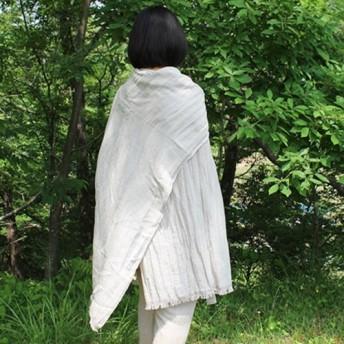 手織り 3wayマルチショール