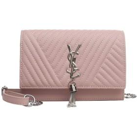 刺繍入りショルダーバッグハンドバッグPUレザー新しい韓国のファッション小さな正方形のバッグトレンドオリジナル刺繍ロック斜めパッケージ (B)