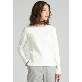 MAYSON GREY 針抜きフライスロンT Tシャツ・カットソー,オフホワイト
