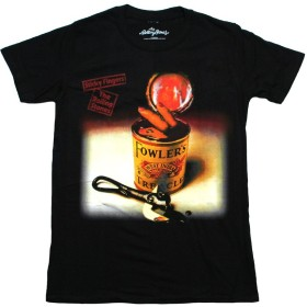 The Rolling Stones/Sticky Fingers Spanish Edition Tee (Black) Large