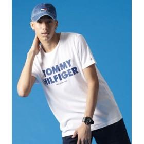(TOMMY HILFIGER/トミーヒルフィガー)【オンライン限定カラーあり】ロゴTシャツ/ユニセックス ホワイト 送料無料