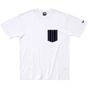オンスポッツ別注 (ニューエラ) NEW ERA Tシャツ SPICE TOP RUSSELL ホワイト L