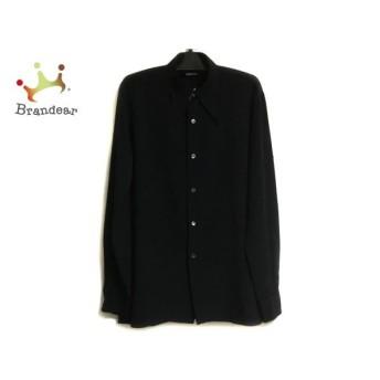 アニエスベー agnes b 長袖シャツ サイズ42 M メンズ 黒 新着 20190816