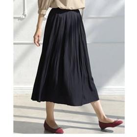 【green label relaxing:スカート】FFC フェードプリーツ スカート