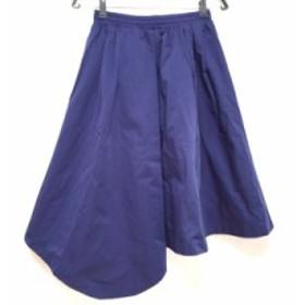 ミラオーウェン Mila Owen ロングスカート サイズ1 S レディース ブルー【中古】