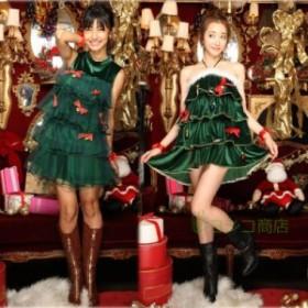 ハロウイン コスプレ クリスマス Christmas ワンピース レディース コスチューム セクシー ステージ仮装 ダンス パーティー 変装