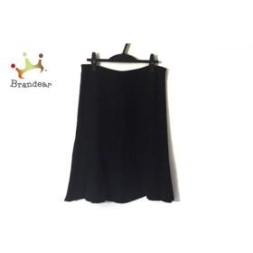 アルマーニコレッツォーニ ARMANICOLLEZIONI スカート サイズ46 L レディース 美品 黒 新着 20190816