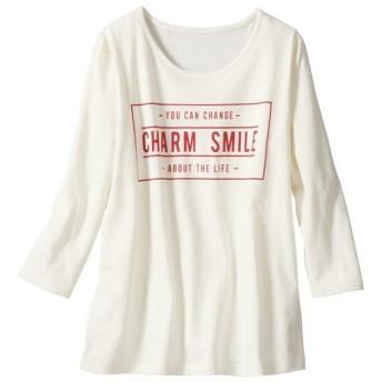 70%OFF【レディース大きいサイズ】 クルーネックTシャツ(綿100%・L-10L) - セシール ■カラー:アイボリクリーム ■サイズ:9L-10L
