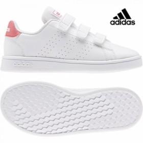 adidas【アディダス】 ADVANCOURT C (アドバンテージ) ランニングホワイト キッズ 子供 シューズ 靴 こども adk 19FW ef0221