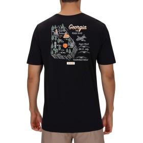 [ハーレー] メンズ シャツ Hurley Men's Georgia 3D Mapstee T-Shirt [並行輸入品]
