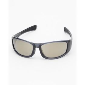 SWANS ブラック サングラス ミラーレンズ 偏光レンズ○HR853 ブラック/ブラック/ゴールドミラー/偏光ライトスモーク メガネ/眼鏡