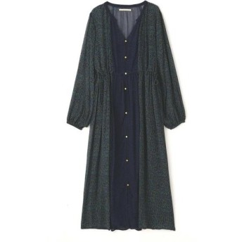ROSE BUD / ローズ バッド Rayon Ggt Front Button Dress