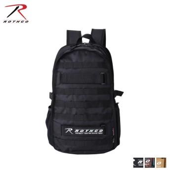 ROTHCO ロスコ リュック バッグ バックパック メンズ レディース P600 SERIES 迷彩柄 ブラック ブラウン 黒 45002