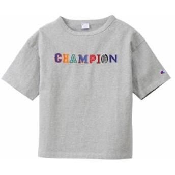 チャンピオン:【レディース】Tシャツ【Champion カジュアル 半袖 シャツ 七分袖 七分丈】