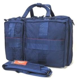 美品 BRIEFING ブリーフィング BEAMS ビームス 3WAY ブリーフ 紺 鞄 バッグ バックパック リュック ケース【中古】60001614