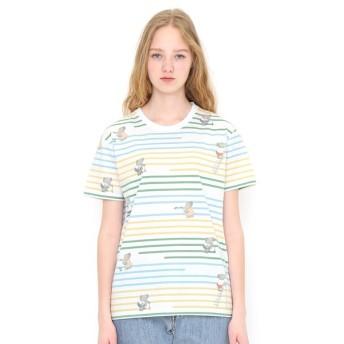 [マルイ] 【ユニセックス】コラボレーションTシャツ/ペインティング(ぞうのババール)/グラニフ(graniph)