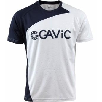 ガビック(GAVIC) メンズ サッカー プラクティスシャツ PRCTICE SHIRTS ホワイト GA8079 WHT 【サッカーウェア フットサル Tシャツ 半袖
