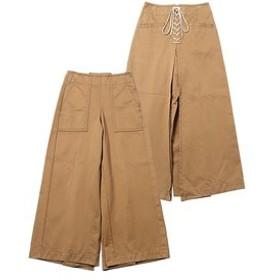 【MILKFED.:パンツ】LACE-UP PANTS