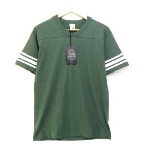 未使用 COOTIE クーティー 16SS フットボール 半袖Tシャツ 緑 T/C Short Sleeve Football Tee CTE-16S317 【中古】20007183