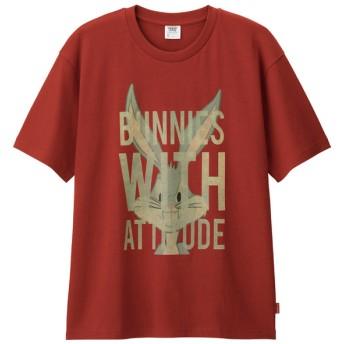 (GU)ビッグT(半袖)Bugs Bunny1 RED L