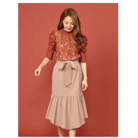 MIIA(ミーア)ベルト付きマーメイドスカート