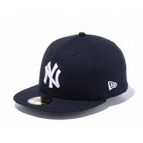 ニューエラ NEW ERA 59FIFTY タイプライター ニューヨーク・ヤンキース ピュアブラック × ホワイト キャップ 帽子 日本正規品