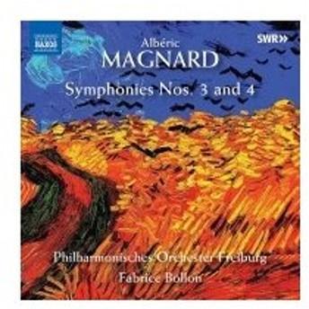 Magnard マニャール / 交響曲第3番、第4番 ファブリス・ボロン&フライブルク・フィル 輸入盤 〔CD〕