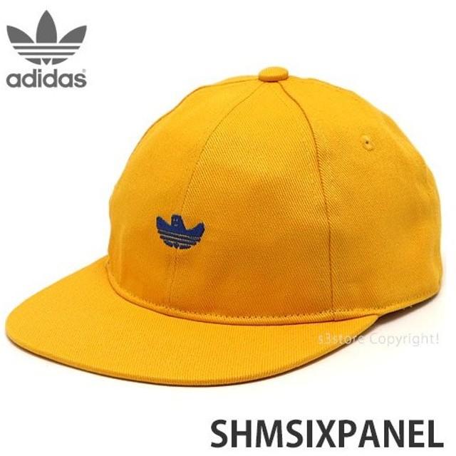 アディダス シュムー adidas SHMSIXPANEL スケート スケボー キャップ 帽子 野球帽 ストリート カラー:GOLD/ROYAL/BK/WT サイズ:OSFX