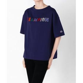 【SALE(三越)】<チャンピオン/Champion> Tシャツ 370ネイビー 【三越・伊勢丹/公式】