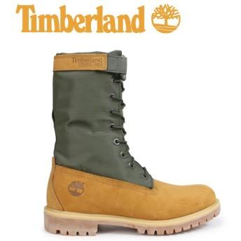 Timberland ブーツ メンズ 6インチ ティンバーランド 6-INCH PREMIUM GAITER BOOTS A1QY8 Wワイズ ダークグリーン