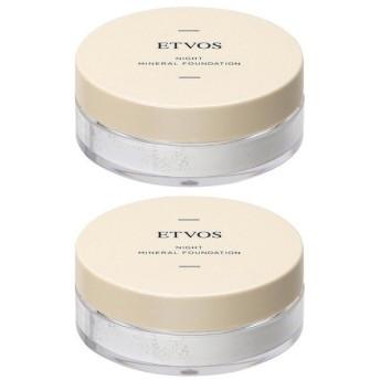 【セット】エトヴォス ETVOS ナイトミネラルファンデーション C 5g 2個セット(増税対策応援 まとめ買いアイテム)