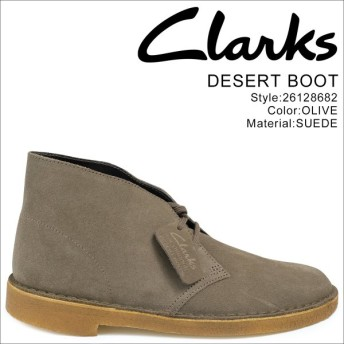 Clarks デザートブーツ メンズ クラークス DESERT BOOT 26128682 レザー 靴 オリーブ