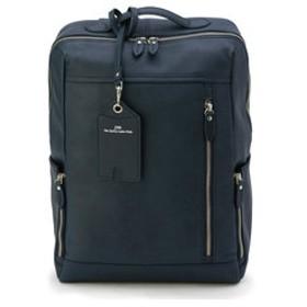 【メンズビギ:バッグ】【JOYA】ベジタブルタンニンオールレザーバックパック