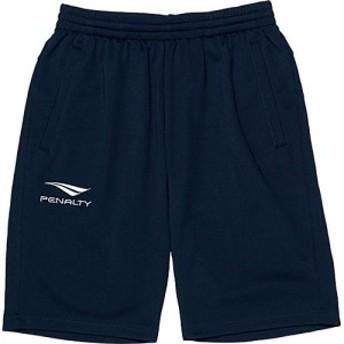 ペナルティ(PENALTY) サッカー メンズ トレーニング ハーフパンツ ネイビー PO8416 81 【プラパン サッカーウェア ジャージ 短パン ス