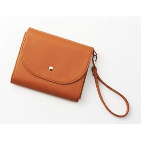 通院に便利なショルダーバッグ - セシール ■カラー:キャメル