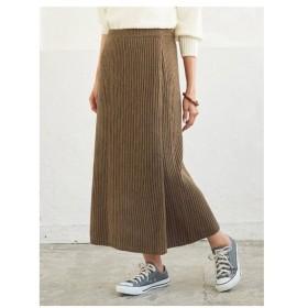 titivate(ティティベイト)ラップロングニットスカート