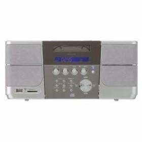 ステレオCDシステム コイズミ SDD4340-S シルバー(送料無料)【納期:メーカー確認】