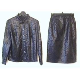 レリアン Leilian スカートセットアップ サイズ7 S レディース 美品 黒【中古】20190722