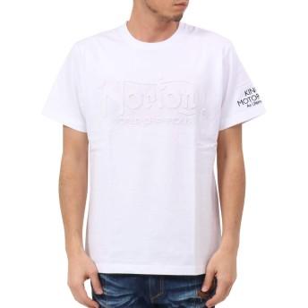 [ノートン] Norton Tシャツ ドッグ ノートン エンボス TEE 192N1005 ホワイト L