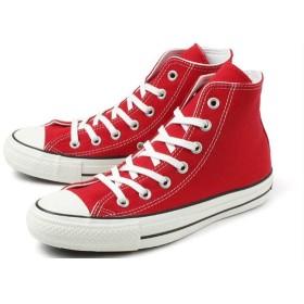 converse (コンバース) ALL STAR 100 COLORS HI(オールスター 100 カラーズ ハイ) 1CK559 レッド