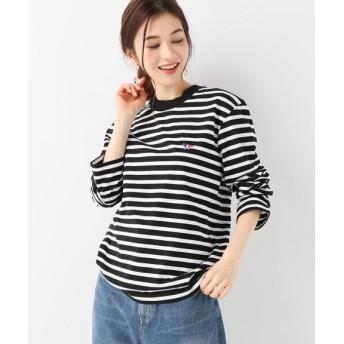 SLOBE IENA MAISON KITSUNE MARINE TRIFOX PATCH Tシャツ ブラック フリー