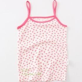 キッズ 子供服 タンクトップ  インナー ガールズ ノースリーブ 女の子 ジュニア   ピンク  トップス 子供服