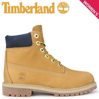 Timberland ブーツ レディース 6インチ キッズ ティンバーランド JUNIOR 6-INCH PREMIUM WATERPROOF BOOTS A1VE5 Wワイズ ウィート