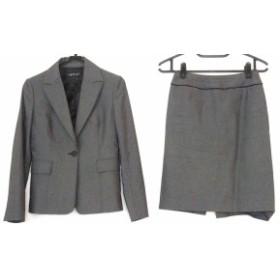 インディビ INDIVI スカートスーツ サイズ38 M レディース グレー【中古】20190801