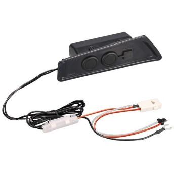CARMATE(カーメイト)C-HR専用 増設電源ユニットNZ571 シガーソケット&USB スマートフォンの充電などに便利