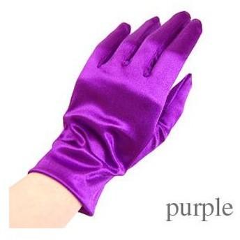 手袋 スパングローブ 21cm/Mサイズ パープル (H)_3b_
