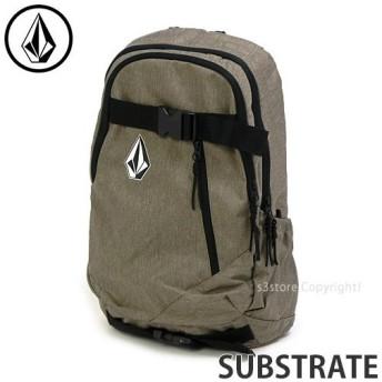ボルコム サブストレイト VOLCOM SUBSTRATE デイバッグ リュック バックパック スケートボード スケボー 鞄 カラー:Sand サイズ:26L