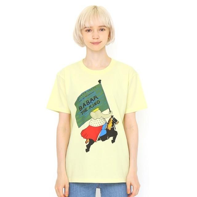 [マルイ] 【ユニセックス】コラボレーションTシャツ/おうさまババール(ぞうのババール)/グラニフ(graniph)