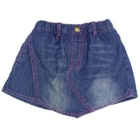 【50%OFF】 アナップキッズ 2パターンデニムスカートパンツ レディース ブルー 100 【ANAP KIDS】 【セール開催中】